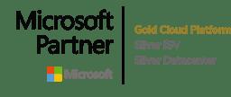 Microsoft Partner - Gold Cloud Platform, Silver ISV, Silver Datacenter